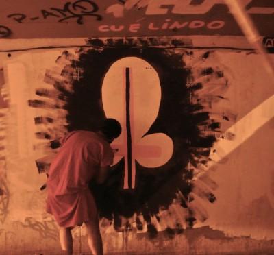 CU É LINDO, CAPÍTULO 1: GÊNESIS, VERSÍCULO 3: Sentimentalidades Rupestres | 2013 | Junto ao projeto EU AMO Catumbi | RJ Foto: Igor Abreu